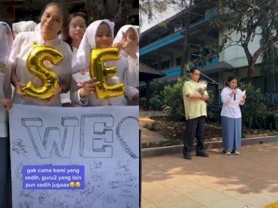 Kenang Jaman Sekolah Saat Gurunya Harus Pindah Ke Sekolah Lain, Bikin Netizen Mewek