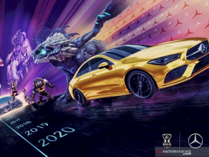 Mercedes-Benz Jalin Kerjasama dengan Riot Games League of Legends