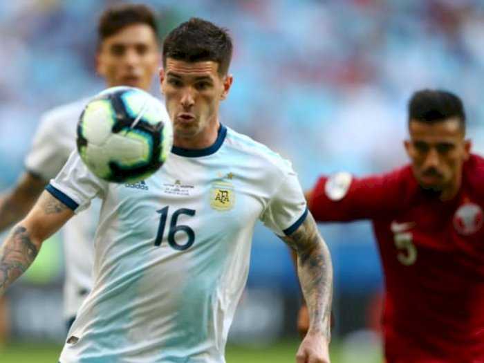 Rodrigo De Paul Siap 'Berperang' Demi Messi di Argentina