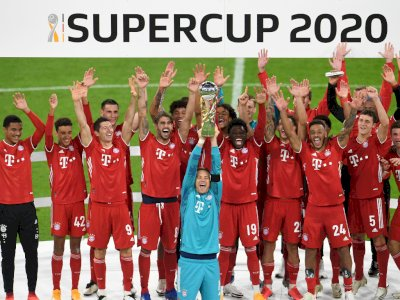 FOTO: Bayern Munchen Berhasil Rebut Piala Super Jerman
