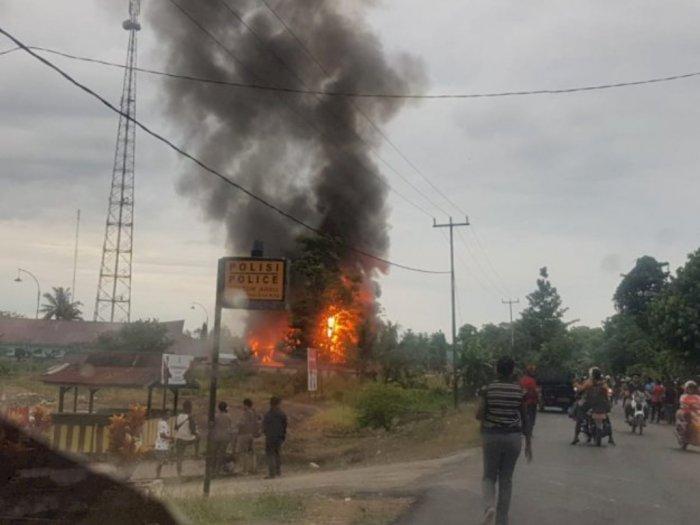 Polisi Tangkap 4 Pelaku Perusuh di Kantor Bupati Keerom Papua