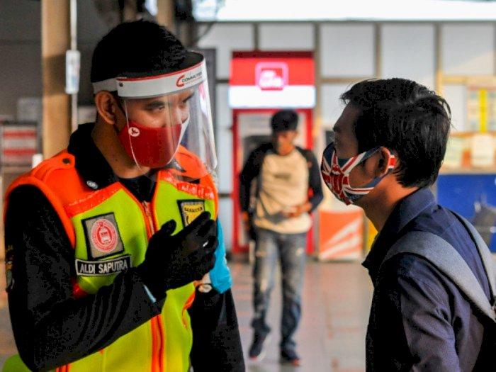 Beda dengan Pemerintah, Pemprov DKI Tak Larang Warga Pakai Masker Scuba