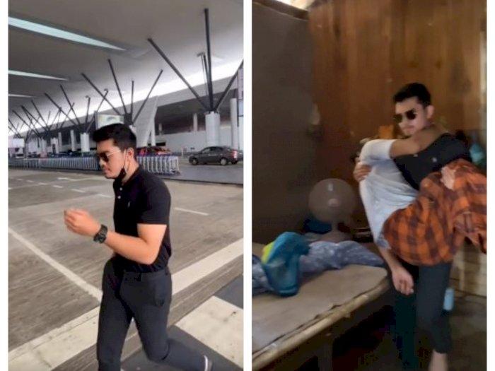 Kisah Inspiratif, Pria Sukses Datangi Sahabat yang Stroke di Kampung untuk Diajak Berobat