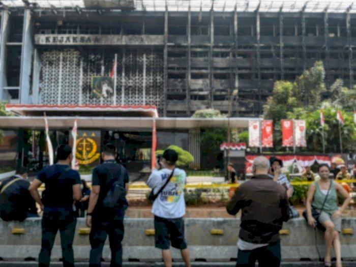Polri Dalami Sosok Cleaning Service Tajir di Kasus Kebakaran Kejagung