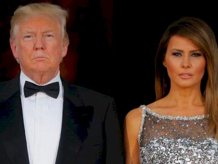 Positif Covid-19, Donald Trump dan Istri Langsung Jalani Karantina