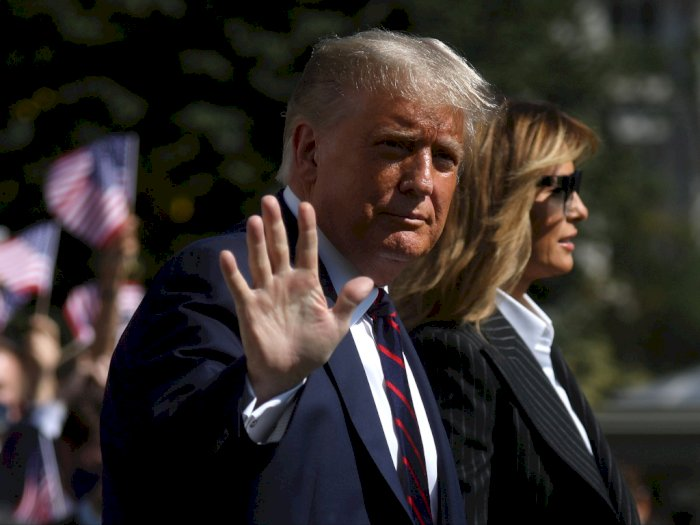 Dinyatakan Positif COVID-19, Sejumlah Negara Harapkan Donald Trump Segera Sembuh