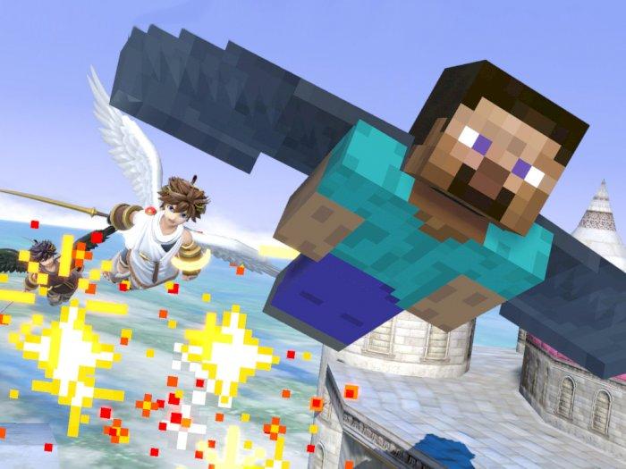 DLC Super Smash Bros. Ultimate Terbaru Ternyata Adalah Karakter Minecraft!