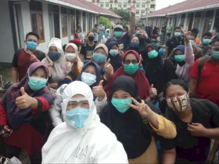 Kabar Baik! 59 Pasien COVID-19 Dinyatakan Sembuh usai Melalui Karantina di Padang