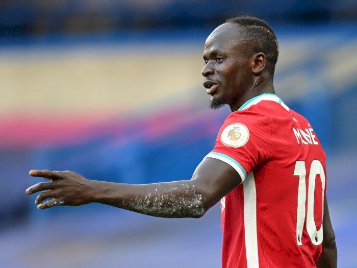 Sadio Mane Jadi Pemain Kedua Liverpool yang Positif Covid-19