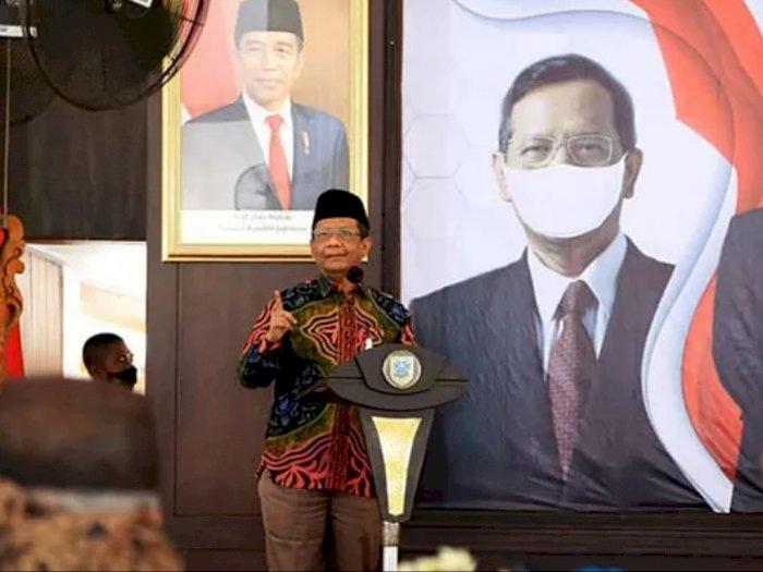 Lawan COVID-19, Mahfud MD Kampanyekan Masker saat Dialog Kebangsaan di Probolinggo