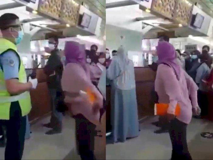 Viral TKW Ngamuk Tantang Jokowi karena Ngaku Dipersulit Terbang