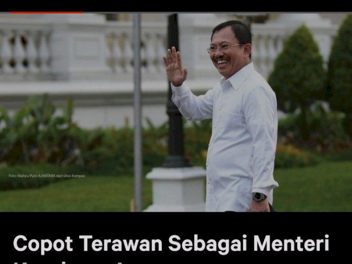 Muncul Petisi Minta Jokowi Copot Terawan, 5 Ribu Lebih Tanda Tangan Terkumpul