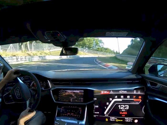 Melihat Mobil Audi RS6 Avant 2021 dari Bagian Dalam Saat Melaju di Nurburgring!