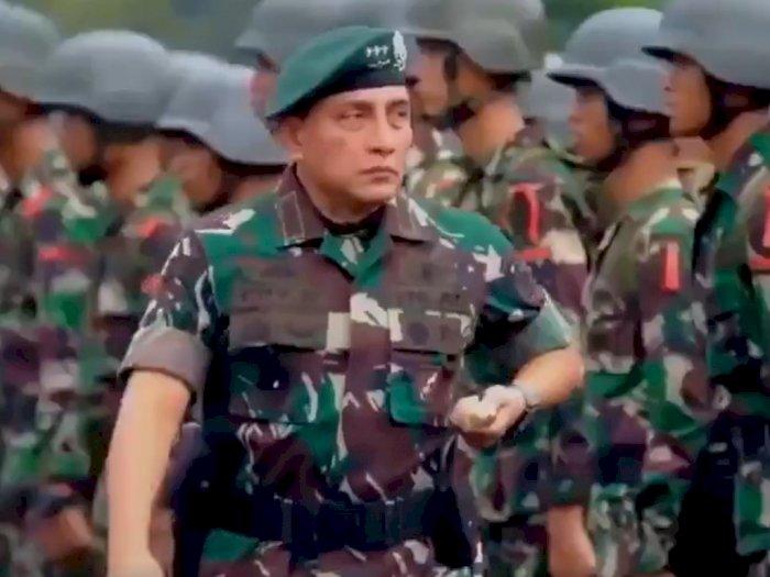 HUT TNI ke-75, Gubernur Edy Posting Ucapan Selamat di Twitter