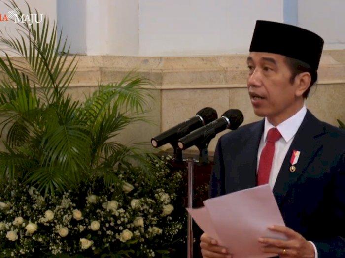 HUT TNI ke-75, Jokowi Bahas Karakter Perang Masa Depan dan Teknologi Militer
