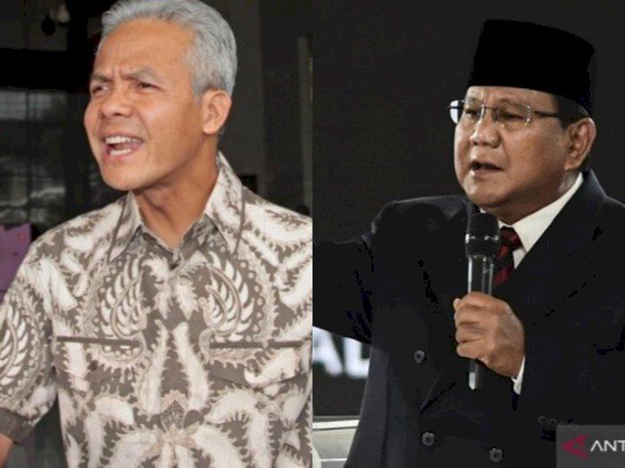 Survei Voxpopuli: Elektabilitas Ganjar Pranowo Lampaui Prabowo Subianto, Anies Baswedan?