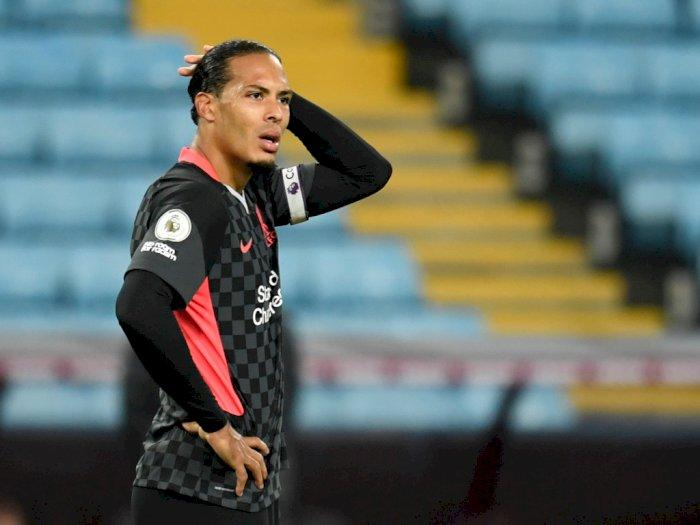 Kalah Dari Aston Villa, Virgil van Dijk: Santai...