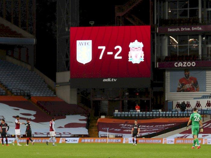 Rekor Memalukan Liverpool: Juara Liga Primer Pertama yang Kebobolan 7 Gol Dalam 67 Tahun