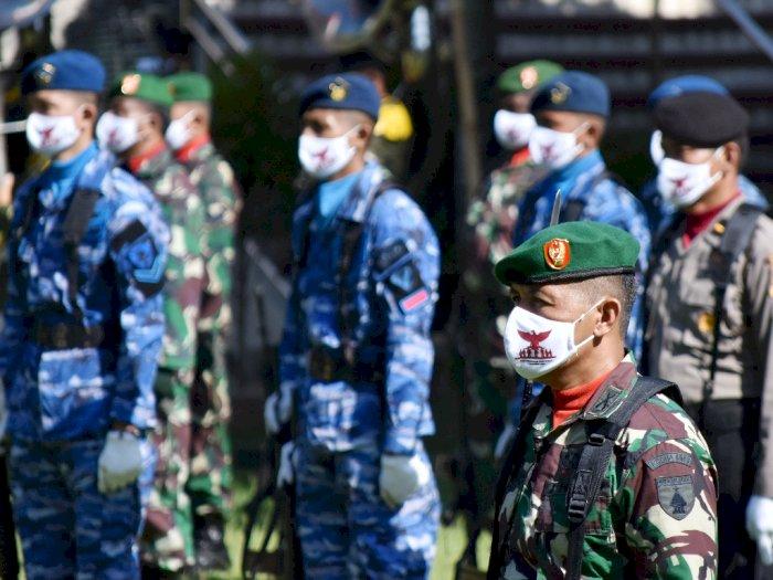 HUT Ke-75, TNI Harus Tingkatkan Kemampuan untuk Hadapi Ancaman Hibrida