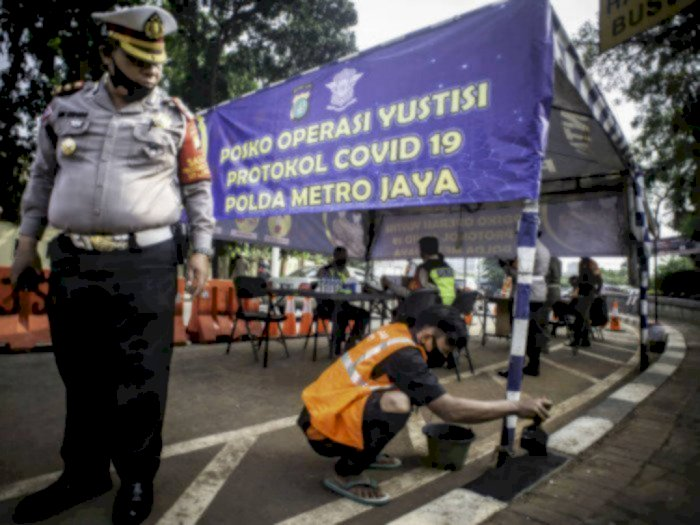 21 Hari Operasi Yustisi di Indonesia, 3.598.436 Pelanggar Ditindak