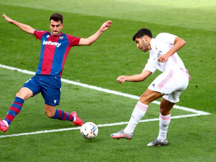 Real Madrid Menang 2-0 Atas Levante, Tetapi Zidane Tak Begitu Puas