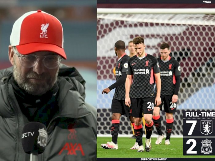 Liverpool Dibantai Aston Villa 7-2, Jurgen Klopp: Kami Ingin Mengukir Sejarah
