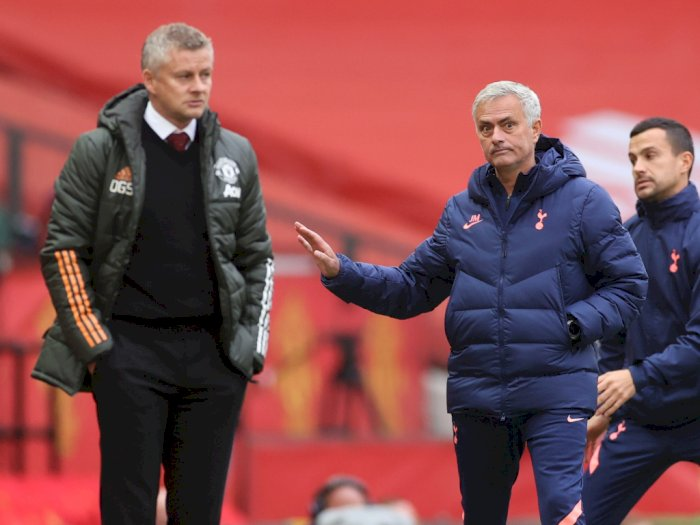 Pasca Spurs Bantai MU, Mourinho: Saya Bersimpati ke Ole, Dia Tidak akan Bisa Tidur Nyenyak