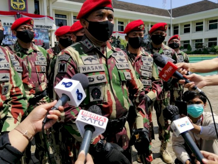 Danjen Kopassus Ingatkan Purnawirawan TNI Bijak Gunakan Baret Merah