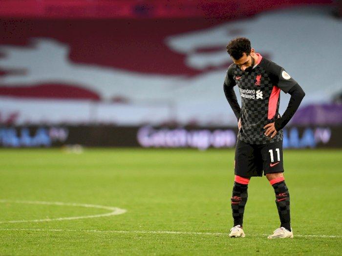 FOTO: Liga Inggris: Aston Villa Hajar Liverpool 7-2