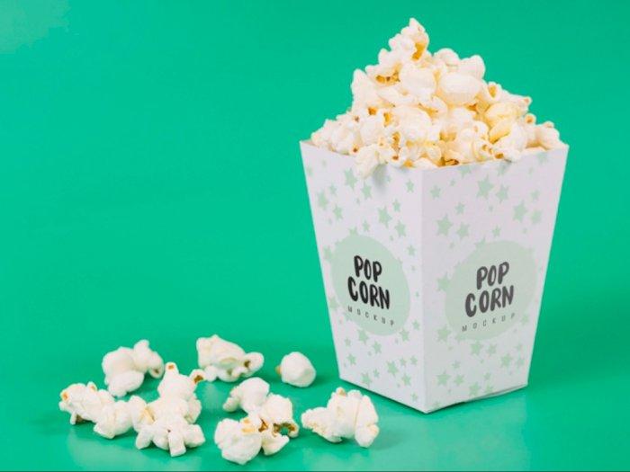 Cuma 3 Bahan, Cobain Bikin Popcorn ala Bioskop