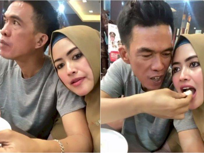 Pamer Kemesraan Bareng Suami di Instagram, Meggy Wulandari Malah Dicap Lebay