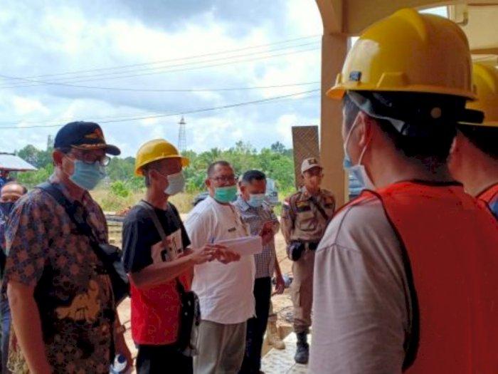 Akan Membangun Gardu Induk, 13 Pekerja Asal Cina tak Mampu Tunjukkan Paspor