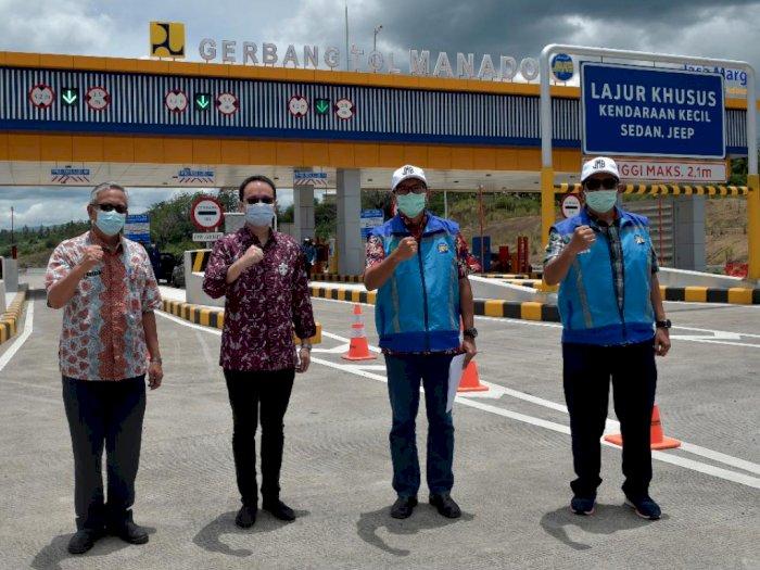 Wamendag Jerry Sambuaga Optimis Tol Manado-Bitung Memberi Dampak Positif