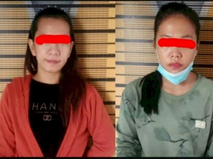 Simpan Sabu-sabu di Kos-kosan, Dua Wanita di Tebing Tinggi Diringkus Petugas