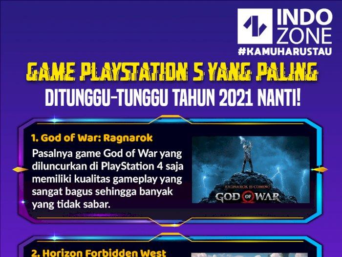 Game PlayStation 5 yang Paling Ditunggu-Tunggu Tahun 2021 Nanti!