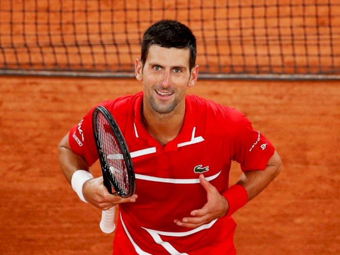 FOTO: Prancis Terbuka 2020: Novak Djokovic Kalahkan Karen Khachanov