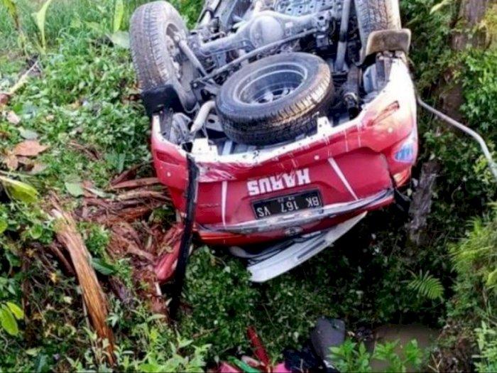 Direktur Keuangan Efarina Tewas Dalam Kecelakaan Tunggal di Lintas Siantar - Saribudolok