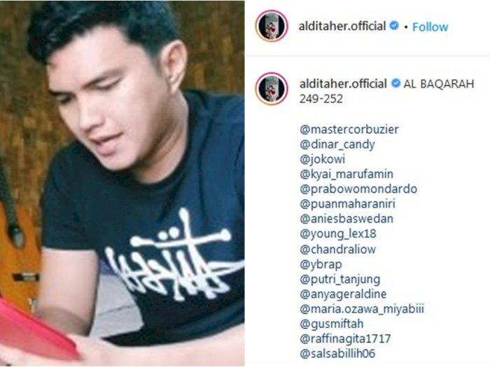 Nggak Main-main, Aldi Taher Tag IG Miyabi untuk 'Ajak' Ngaji, Netizen: Memangnya Mualaf?