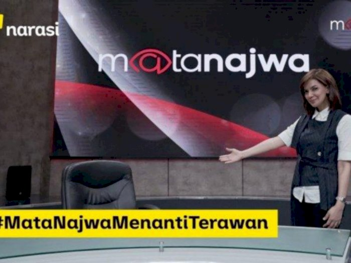 Najwa Shihab Dipolisikan Karena Kursi Kosong, Netizen: Kursi Kosongnya Dipanggil ke Sidang