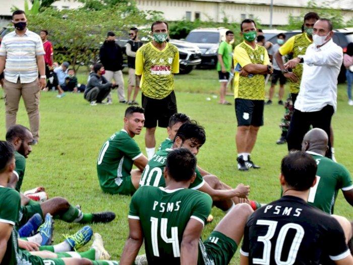 Kompetisi Liga 2 Ditunda, PSMS Medan Kembali Gelar Latihan Fisik di Berastagi