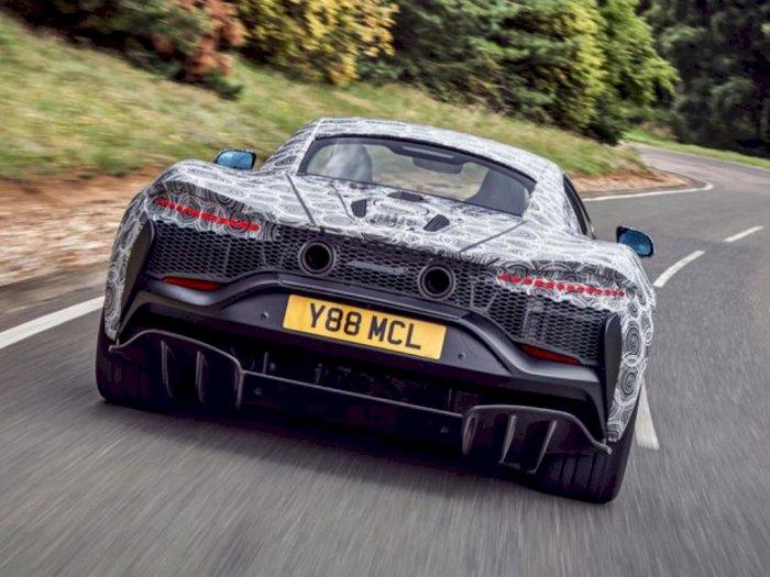 McLaren Sedang Uji Coba Mobil Baru dengan Mesin V-6 Hybrid, Rilis 2021