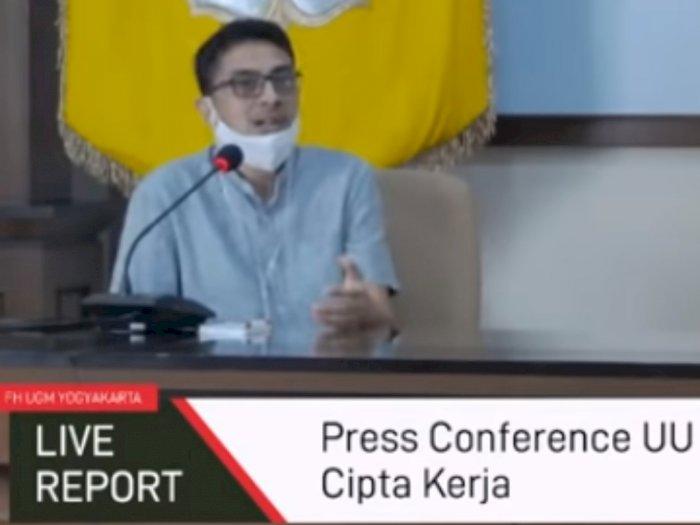 Guru Besar Fakultas Hukum UGM Serukan Pembangkangan Sipil Tolak RUU Cipta Kerja