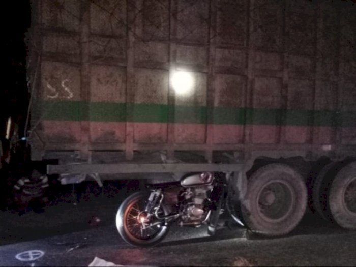 Tabrak Truk yang Tengah Parkir di Pinggir Jalan, Pengendara Motor di Simalungun Tewas