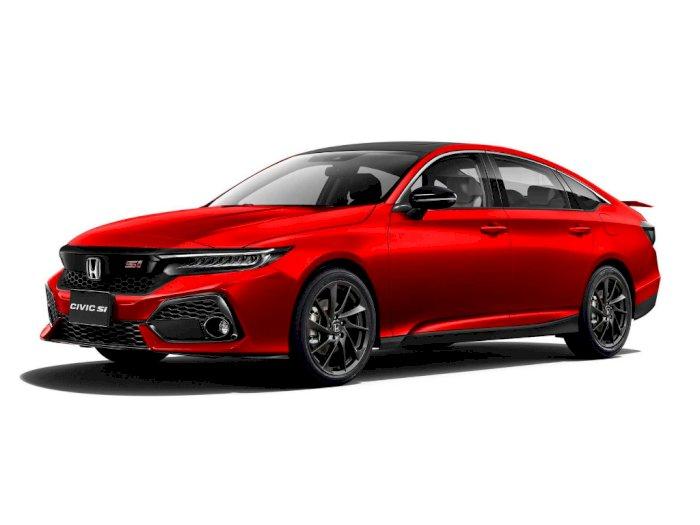 Seperti Ini Tampilan Mobil Honda Civic Si 2022 dalam Bentuk Render