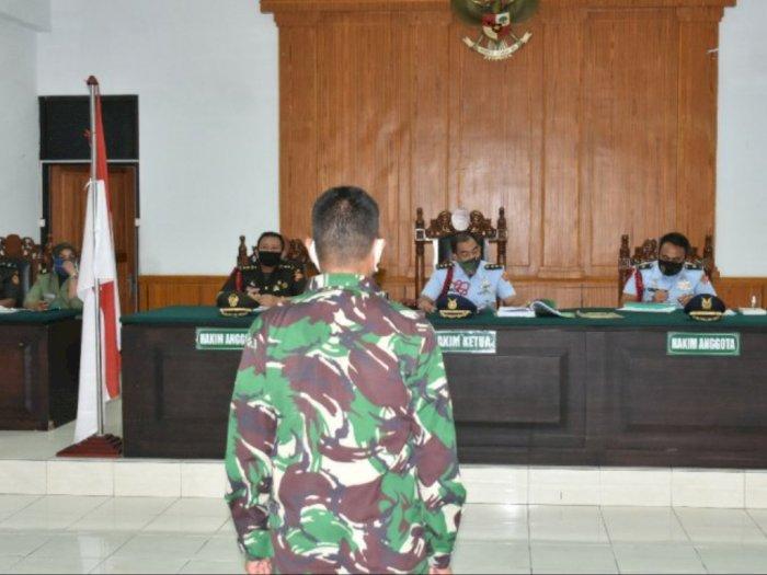 Mutilasi Istri, Oknum Anggota TNI Ini Diadili di Pengadilan Militer Tinggi Medan