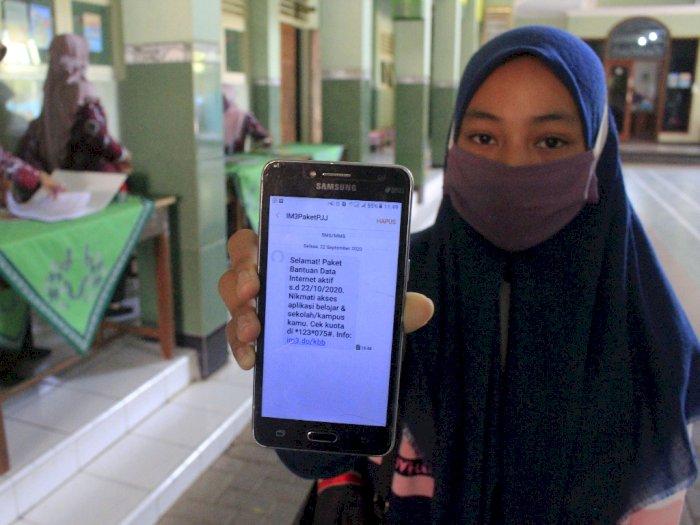 Kemendikbud: Silahkan Lapor ke Sekolah Bagi Siswa yang Belum Terima Kuota Internet