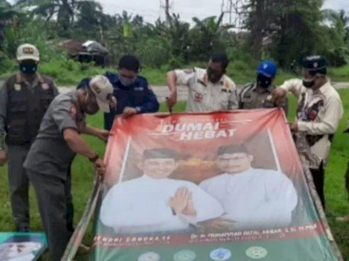 Tak kantongi Izin, Bawaslu Bubarkan Dua Kampanye Pilkada di Riau