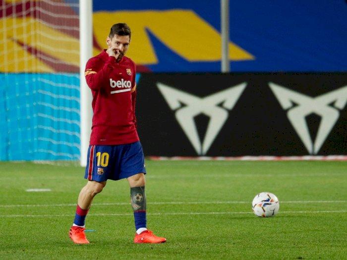 Lionel Scaloni: Positif! Messi Akan Tetap Bertahan di Barcelona