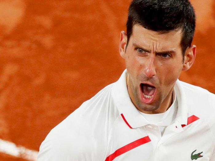 FOTO: Prancis Terbuka 2020: Novak Djokovic Melaju Ke Semifinal