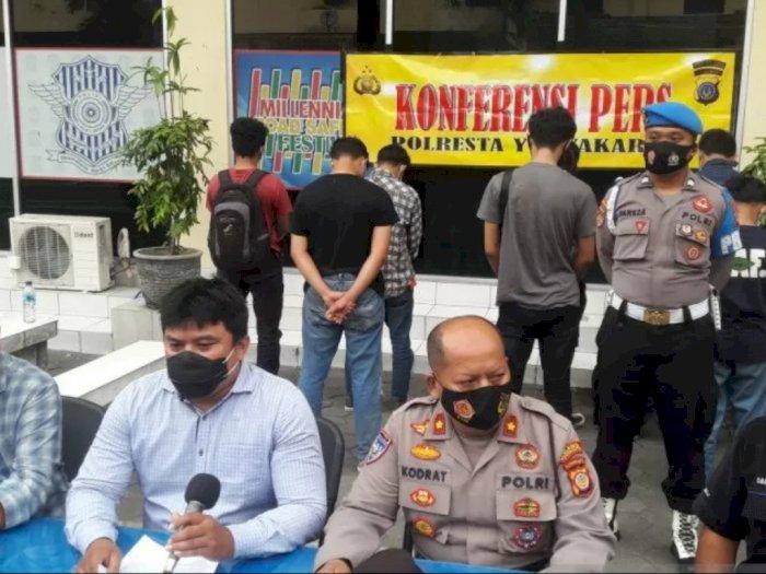 Polisi Amankan 95 Orang Terlibat Demonstrasi Ricuh di Yogyakarta, 1 Orang Reaktif COVID-19